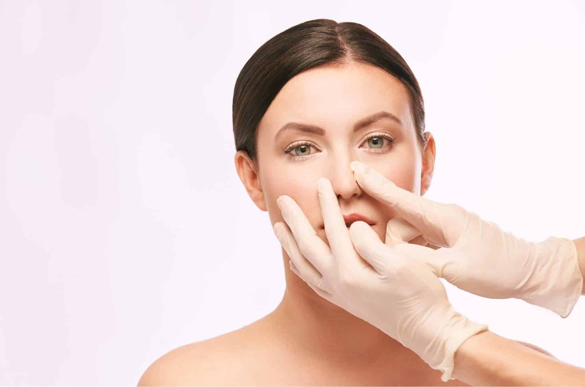 how to fix a crooked nose